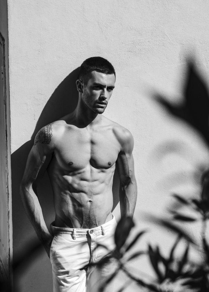 Saul Braco Male Model Ibiza 18
