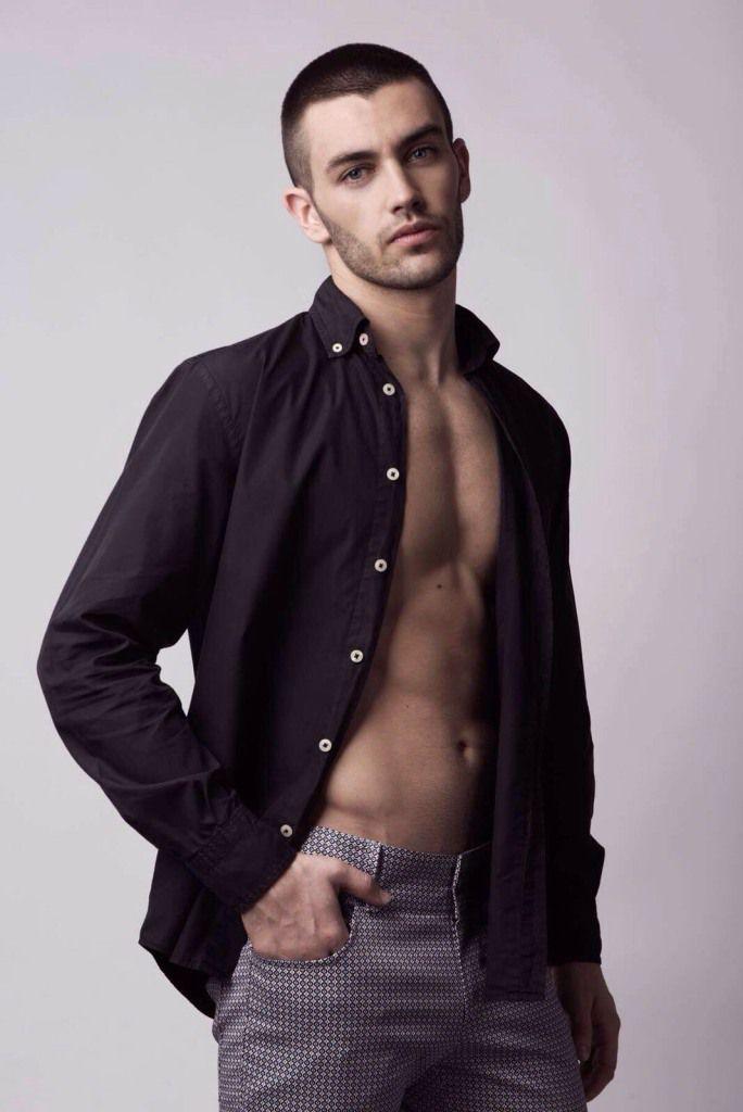 Saul Braco Male Model Ibiza 12